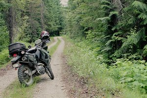 Dualsport Motorcycle Adventure Trail