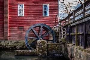 Water Wheel at the Mill