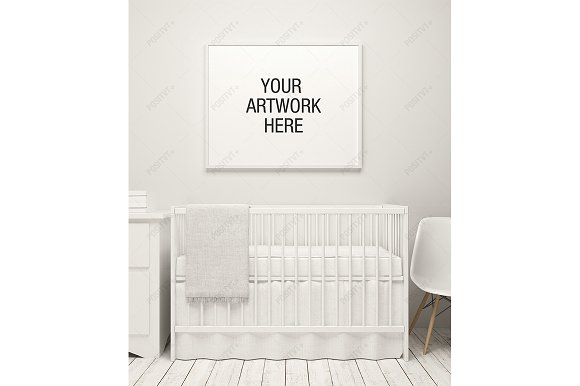 Download Nursery Frame Mockup White Theme