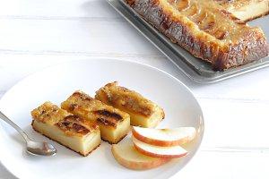Fresh apple tart