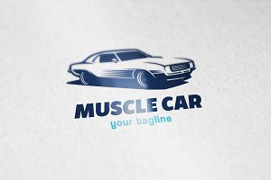 Muscle Car Logo