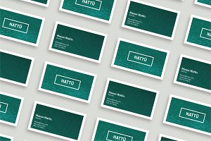 NATTÜ - Business Card Template