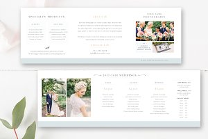 Wedding Pricing Accordion Template