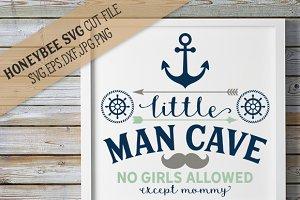 Little Man Cave cut file