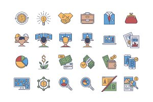 35 Business Icons