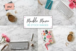 Marble Maven - 45 Stock Image Bundle