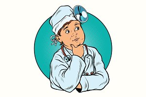 Boy profession doctor