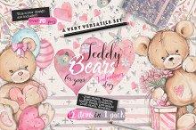 Teddy bears 2 in 1