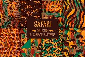 8 SAFARI surface patterns