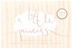 A little princess ( png clipart )