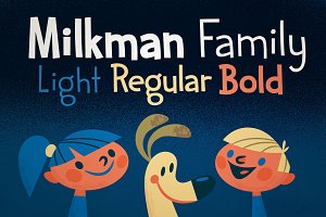 Sale! Milkman Family