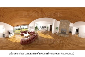 360 Seamless Panorama - Living Room