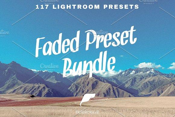 Faded Lightroom Preset Bundle