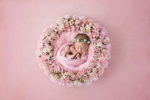 Newborn Photo Digi. Backdrop x 3