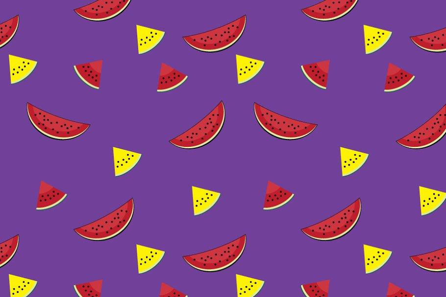 "Pattern ""Watermelon slices"""