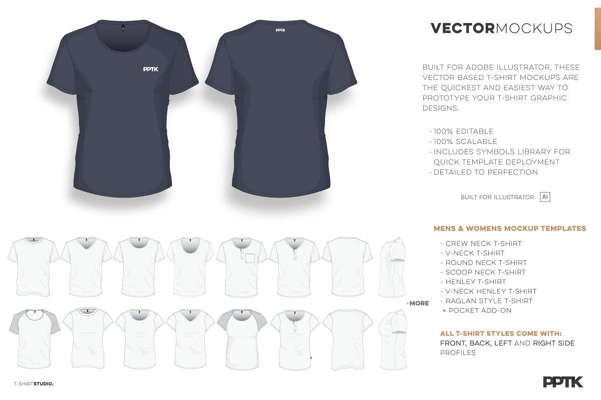 47851a71 T-Shirt Studio Pro ~ Product Mockups ~ Creative Market