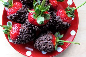 Chocolate Covered Strawberries 002
