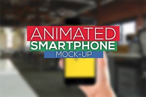 Animated Smartphone Mock-Ups
