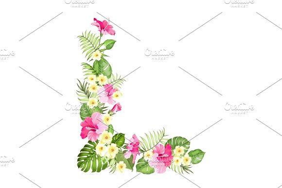 Botanical Decorative Garland