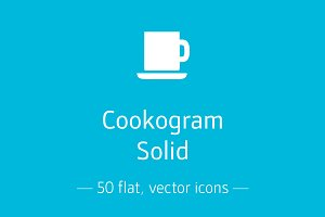 Cookogram, Solid - Icon Pack