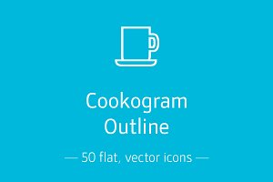 Cookogram, Outline - Icon Pack