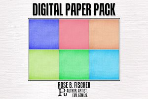Digital Paper-Pastel Canvas