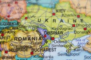 Moldova country map .