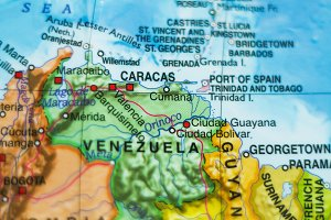 Venezuela country map .