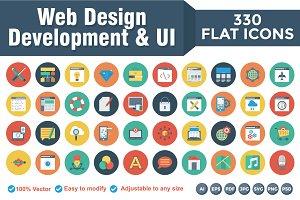 Flat Circle Web Design Development