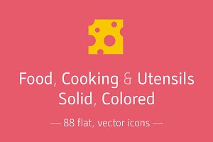Food, Utensils ... Solid - Icon Pack