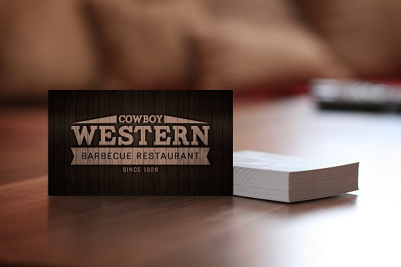 Wood Bbq Business Cards Logo Business Card Templates Creative