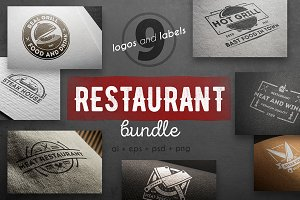 Restaurant logo kit