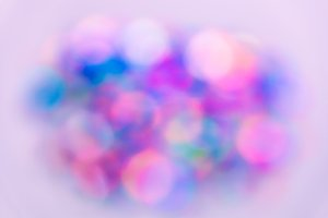 Abstract lights blur bokeh
