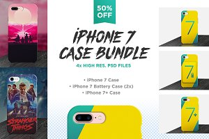 iPhone 7 Case Mockups Bundle