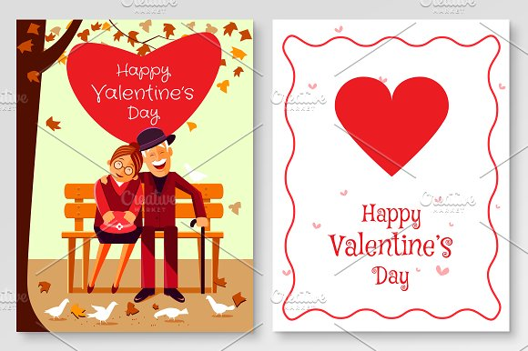 Valentine's Greeting Card Senior