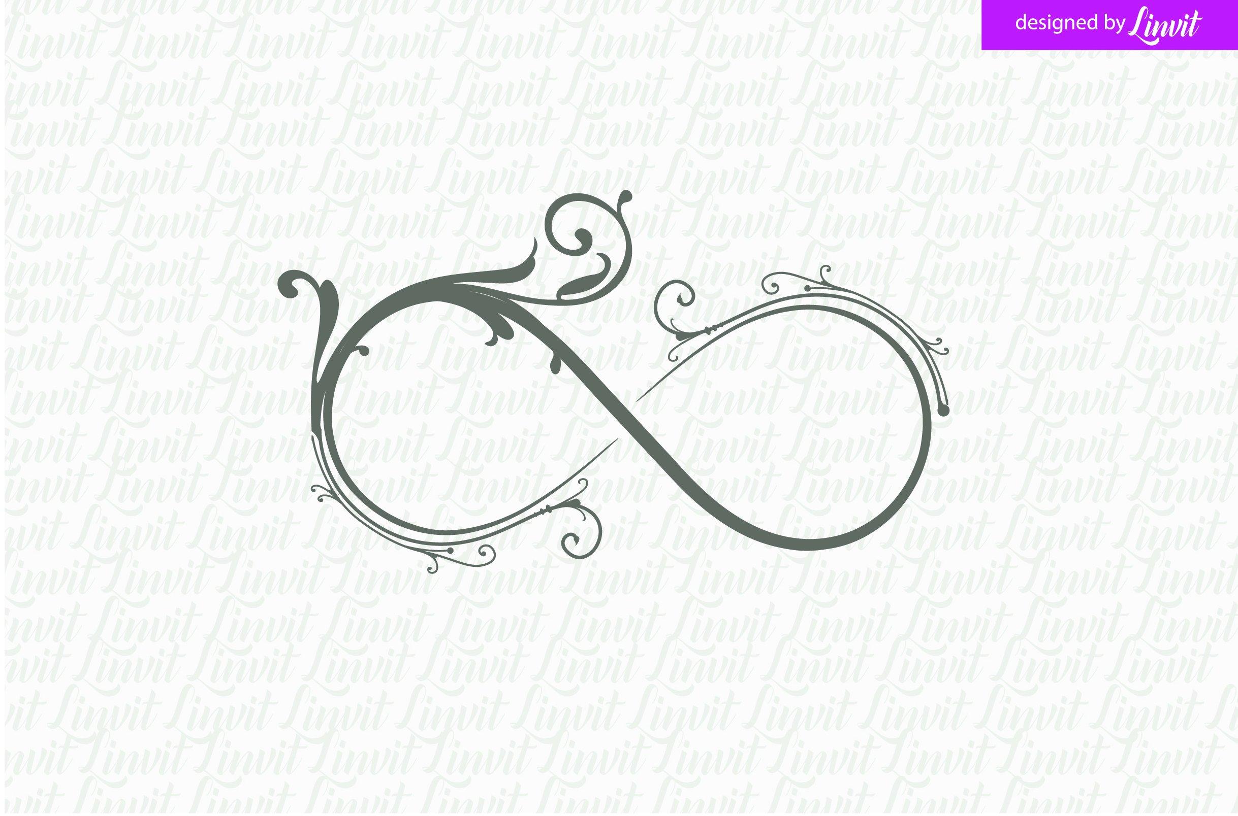 Infinity Wedding Logo Luxury Logo Logo Templates Creative Market