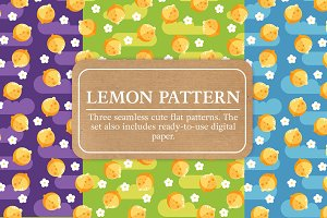 Juicy Lemons Pattern Set