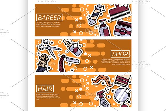 Banners About Barber Shop