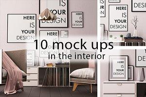 10 interior mock ups