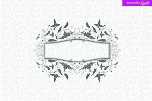Luxury, Royal Wedding Logo
