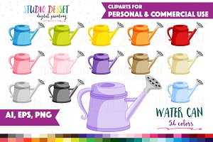 Water Can Vector Clipart