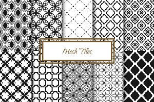 Mesh Tile Vector Patterns