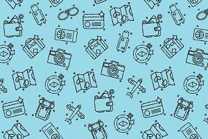 Traveling set pattern
