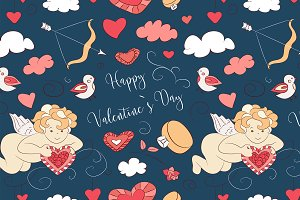 Valentines Day pattern