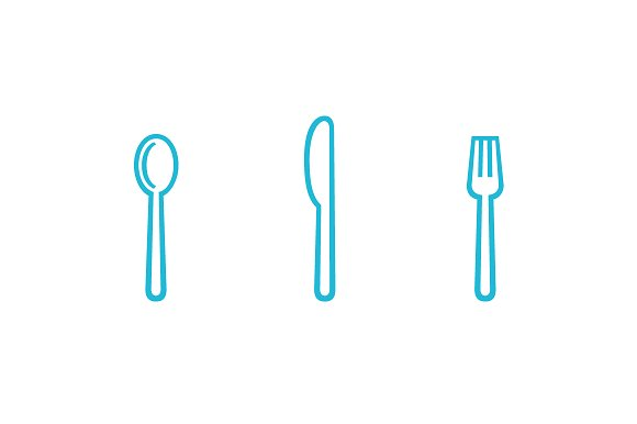 Cookogram, Outline - Icon Pack in Graphics - product preview 1