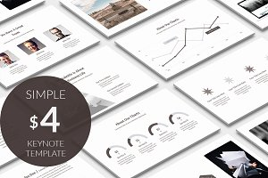 Simple Design Keynote Template