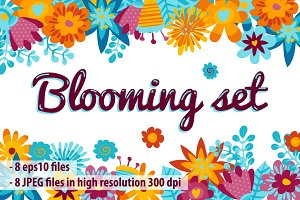 Blooming set