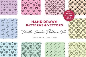 Doodle Hearts | PATTERN Set