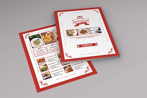 Restaurant Menu Flyer Template-V480