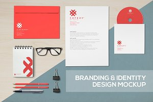 Realistic Branding & Identity mockup